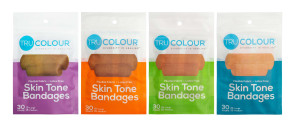 Tru-Colour® Flexible Fabric Bandages Variety 4-Pack, 120/Bag