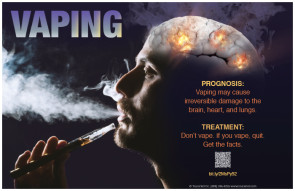 "Vaping: Prognsois and Treatment Poster, 11"" x 17"""