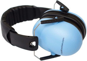 Noise Reduction Headphones, Blue