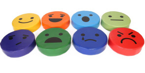 Emotion Cushions, Set of 8