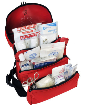 MobileAid® SchoolGuard Grab-N-Go Trauma First Aid Kit