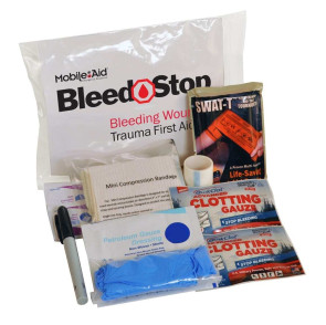 BleedSTOP Compact 100 Bleeding Control & Trauma Kit