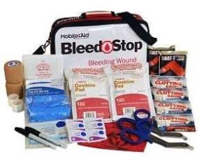BleedSTOP Over-the-Shoulder Double 100 Bleeding Control Kit