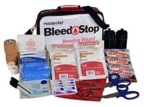 BleedSTOP Over-the-Shoulder Double 200 Bleeding Control Kit