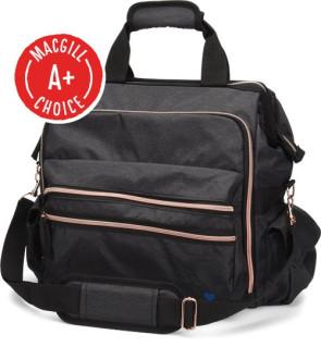 Nurse Mates® Ultimate Nursing Bag, Charcoal/Rose Gold