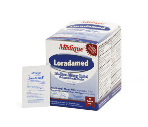 Loradamed Allergy Relief Tablets, 50/Box