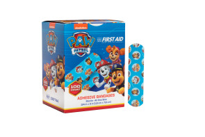 "Paw Patrol Bandages, 3/4"" x 3"", 100/box"
