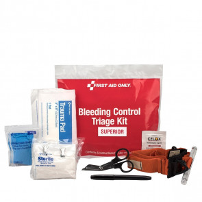 First Aid Only® Bleeding Triage Kit - Superior