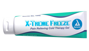 Economy X-Treme Freeze™ Cold Therapy Gel, 4 oz Tube