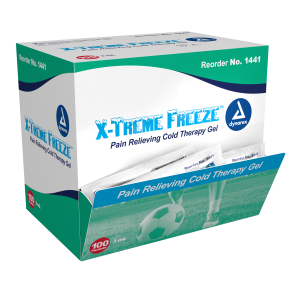 Economy X-Treme Freeze™ Cold Therapy Gel Packets, 100/box