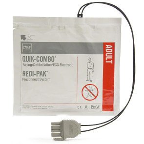 Physio-Control Quik-Combo w/REDI-PAK Replacement Electrodes
