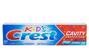 Crest® Gel Toothpaste for Kids, 4.6 oz, 24 per case