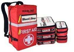 BleedStop Reflex 200 Bleeding Control Trauma Backpack Kit
