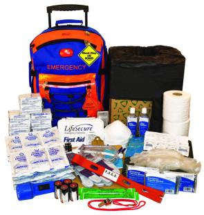 SchoolGuard Evacuation Rolling Kit w/Bleedstop Compact 200