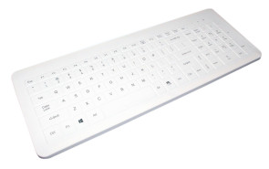 Man & Machine Fitted Drape for Very Cool Keyboard, White