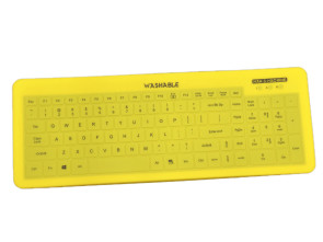 Man & Machine Fitted Drape for Very Cool Keyboard, Yellow