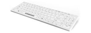 Man & Machine Fitted Drape for Its Cool Keyboard, White