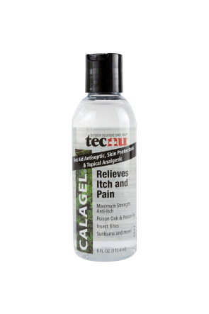 CalaGel Anti-Itch Gel, 6 Oz Bottle