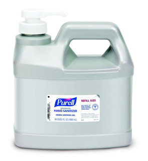 Purell® Advanced Green Certified Hand Sanitizer Gel, 64 oz