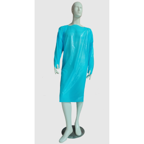 Blue Universal Isolation Gown, 75 per case