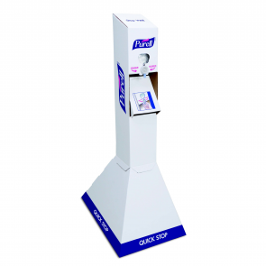 PURELL® Quick Floor Stand Kit with PURELL NXT® Refills