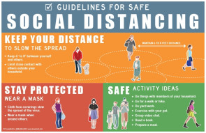 Guidelines for Safe Social Distancing