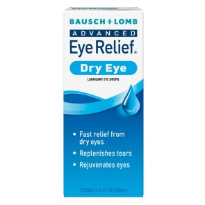 Bausch & Lomb Advanced Eye Relief® Dry Eye Drops, 0.5 oz