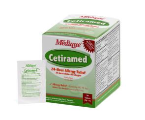 Cetiramed Allergy Relief, 50 packs of 1