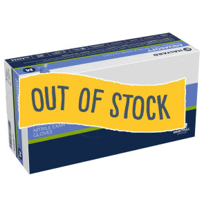 (Out of Stock) Halyard Aquasoft® Nitrile Gloves, Med, 300/bx
