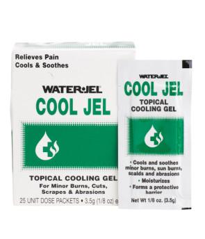 Water Jel® Cool Jel, 1/8 Oz. Unit Dose Packs, 25/Bx
