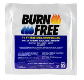 "4"" x 4"" Burn Free® Burn Dressing"
