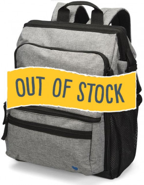 (Out of Stock) Nurse Mates® Ultimate Backpack, Grey Linen