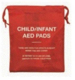 Drawstring Bag for Infant/Child AED Pads