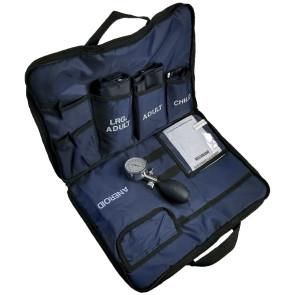 Dynarex® Blood Pressure Cuff Kit, 3 Cuffs, Navy