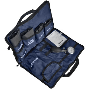 Dynarex® Blood Pressure Cuff Kit, 5 Cuffs, Navy