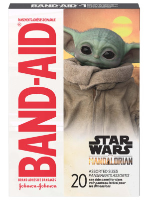 Band-Aid® Mandalorian Assorted Bandages, 20/Box