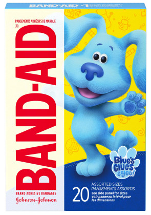 Band-Aid® Blues Clue & You! Assorted Bandages, 20/Box