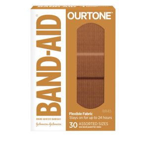 J&J Band-Aid® OurTone® BR45 Assorted Bandages, 30/bx