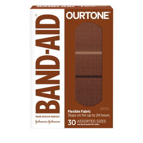 J&J Band-Aid® OurTone® BR55 Assorted Bandages, 30/box