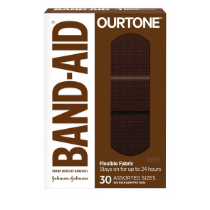 J&J Band-Aid® OurTone® BR65 Assorted Bandages, 30/box