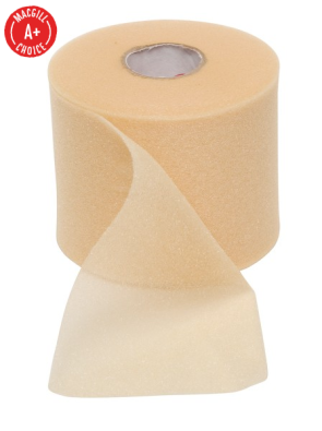 "Tape Underwrap, 2-3/4"" x 30 Yds, Beige, Single Roll"