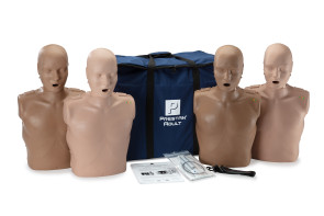 Prestan® Adult Diversey Manikin 4 Pack with CPR Monitor