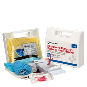 Bloodborne Pathogen/Personal Protection Kit with CPR Mask