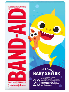 Baby Shark™ Assorted Bandages, 20/Box