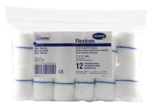 """Flexicon Non-Sterile 2"""" x 4.1 Yds Elastic Gauze, 12/Bag"""