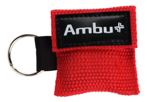 Ambu® Res-Cue® Key with Red Woven Case