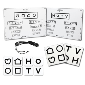 LEA Symbols® and HOTV VIC Chart, 10-Feet