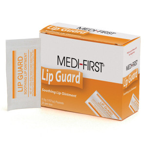 Medi-First Lip-Guard Packets, 20/Box