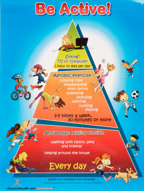 Be Active! Poster