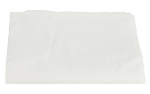"Drape Sheet, White, Tissue 40"" x 60"", 100/Case"